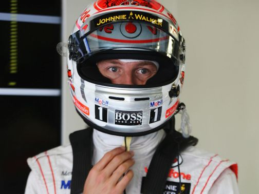 Jenson Button: Fourth at Suzuka