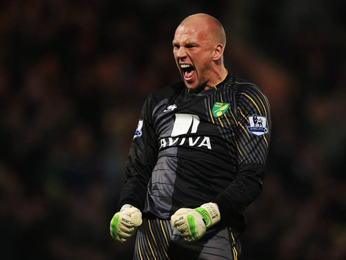 John Ruddy: Faces three months on the sidelines