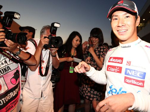 Kamui Kobayashi: No drive yet for next season