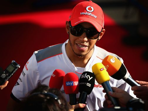 Lewis Hamilton only wants to talk about the Japanese Grand Prix.