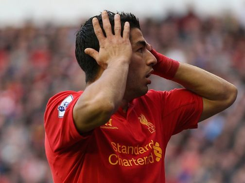 Luis Suarez: Diving row