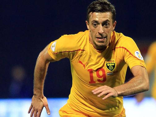 Ibraimi Agim: Winning goal for Macedonia