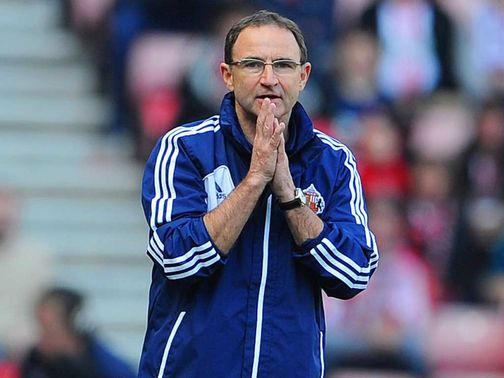 Martin O&#39;Neill: Disappointed with fans&#39; chants