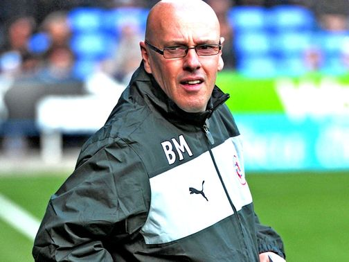 Brian McDermott: Rallying cry from Royals boss
