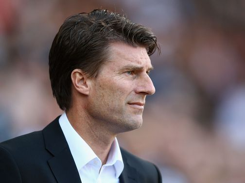 Michael Laudrup: Has the backing of Swansea's players, insists Monk