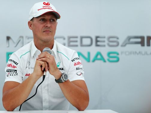 Schumacher: Time to retire