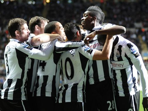 Newcastle can at last celebrate at Anfield
