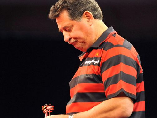Dennis Priestley: Could have made his final appearance at Ally Pally