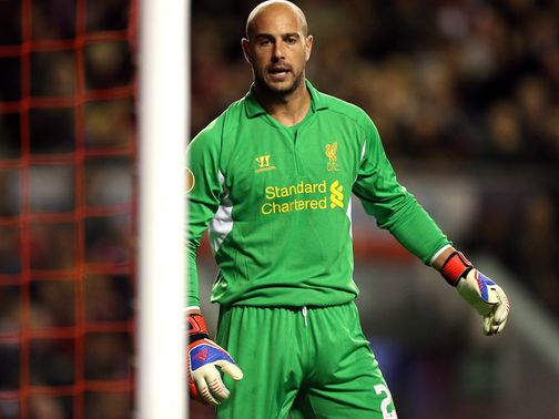 Reina is surprised to see Valdes move on from Barcelona