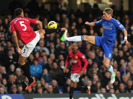 Ferdinand and Torres tangle.