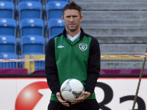 Robbie Keane: Fit to travel to Faroes