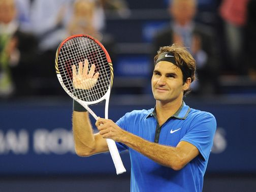 Federer: Straight-sets success