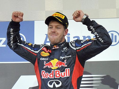 Sebastian Vettel: Four points behind Alonso