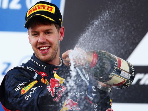 Sebastian Vettel: Dominated in Japan