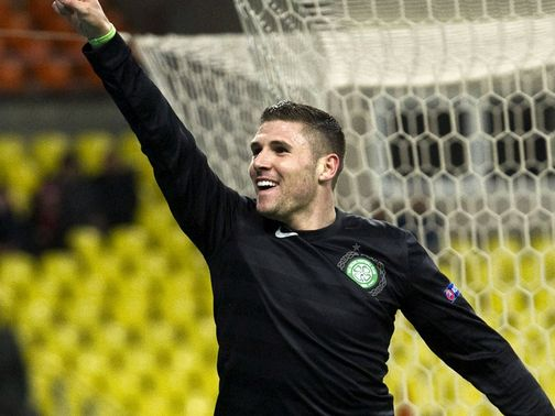 Gary Hooper: Could train on Sunday