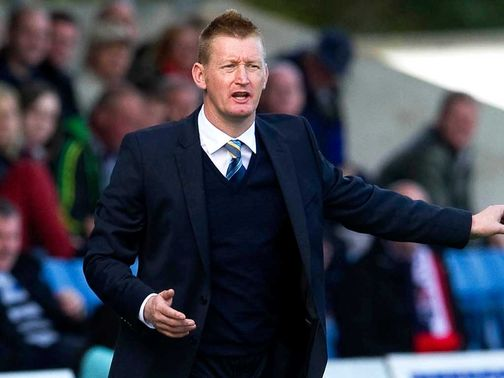 Steve Lomas wants to see improvement