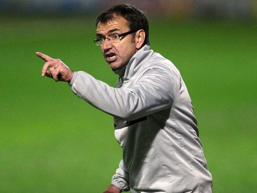 Pat Fenlon: Has led Hibernian to second in the SPL
