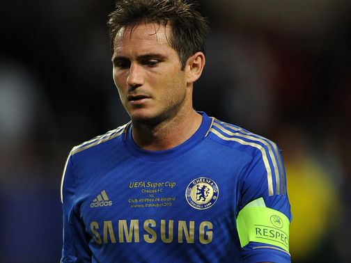 Frank Lampard: In the final year of his Chelsea contract