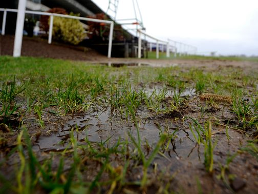 Waterlogging: Could cause problems for Leicester