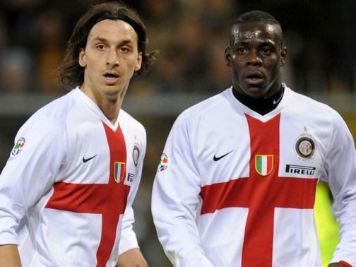 Ibrahimovic: Critical of former Inter team-mate Ballotelli