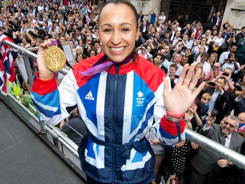 Jessica Ennis lit up the London Olympics