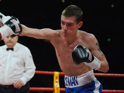 Kevin Satchell: Confident he will be too strong for Luke Wilton (Pic leighdawneyphotography.com)