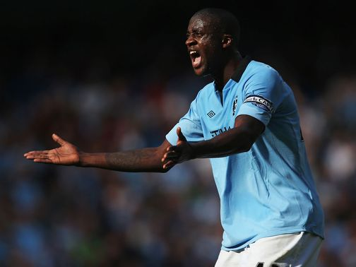Toure: Happy at Man City