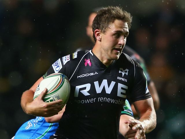 Ashley Beck: Ospreys centre ruled out through injury