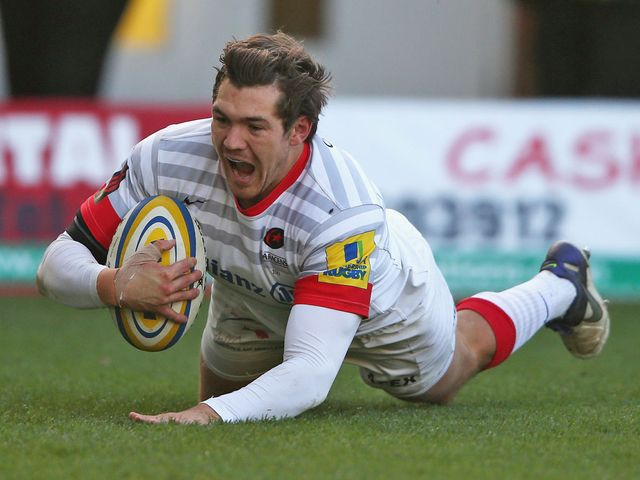 Alex Goode: Declared himself fit for England duty