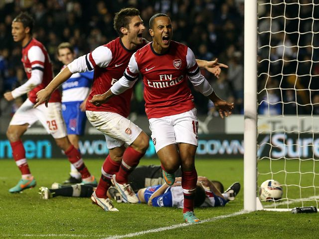 Walcott netted late in extra-time to make it 6-5