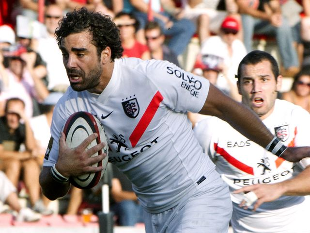 At full-back for Toulouse: Yoann Huget