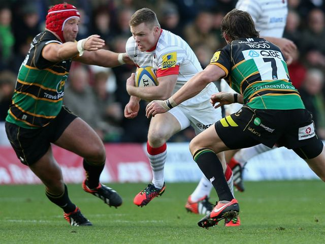 Chris Ashton: Returns to the starting line-up for Saracens