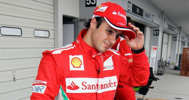 Felipe Massa: Set for another year in red