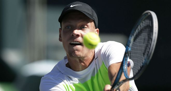 Tomas Berdych: Was a straight-sets winner at the Japan Open