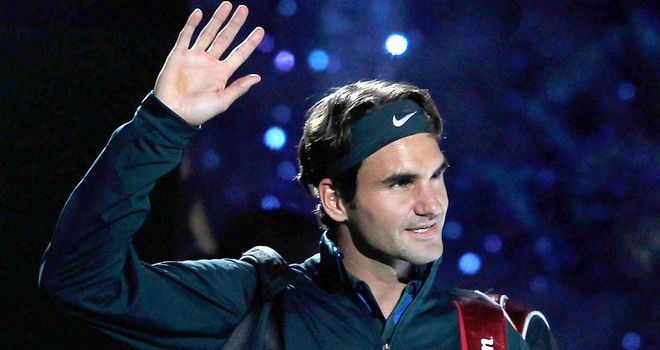 Roger Federer: Will be defending his title in London this week