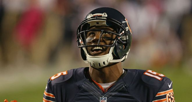 Brandon Marshall: Scored Chicago's only touchdown