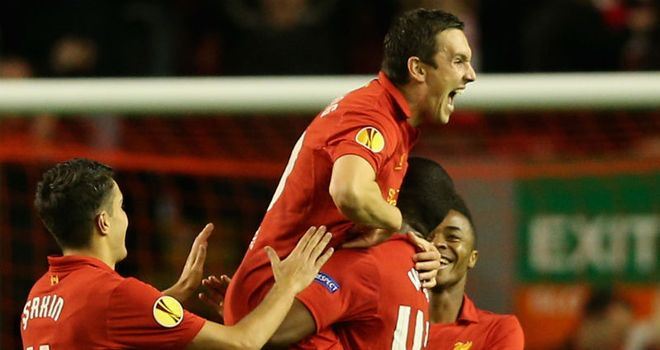 Stewart Downing: On target in Europe and hoping to figure on derby day