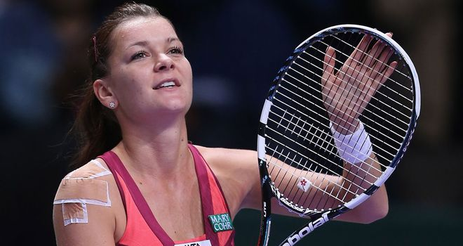 Agnieszka Radwanska: Too solid for Petra Kvitova