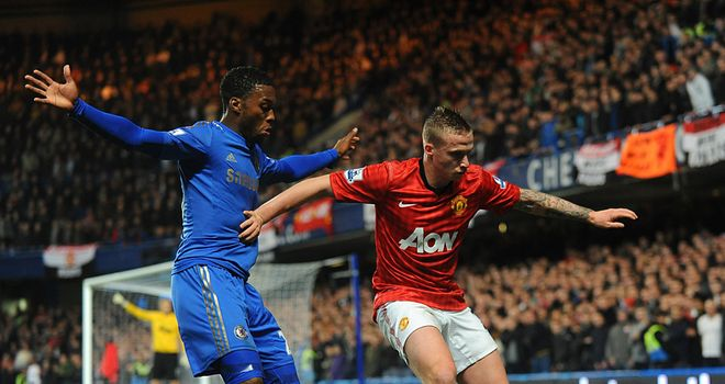 Chelsea and Manchester United met in the fourth round of the Capital One Cup at Stamford Bridge