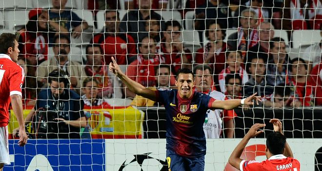 Alexis Sanchez: Happy at Barcelona