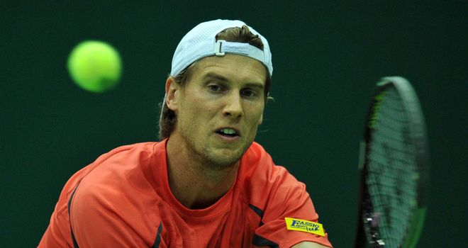 Andreas Seppi: Will face Malek Jaziri in the semi-finals of the Kremlin Cup