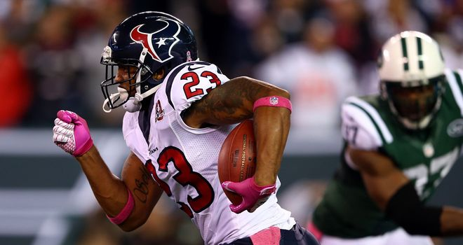 Arian Foster: Houston Texans running back piled up 152 yards on the ground and a touchdown