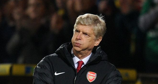 Arsene Wenger was left frustrated by his side in their defeat at Norwich