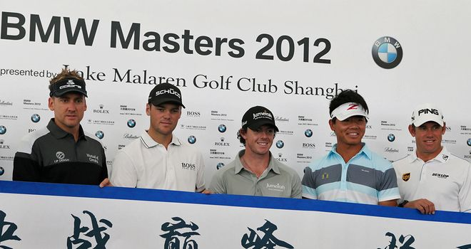 Some of the stars on show in China this week
