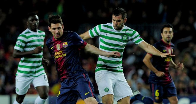 Lionel Messi: Would like to see Celtic make it through to the Champions League knockout stages