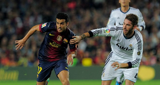Pedro: Barcelona forward is preparing for a tough game against Celtic on Wednesday night