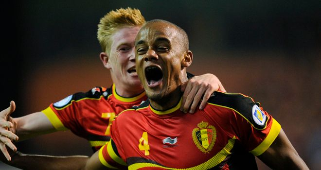 Vincent Kompany: Belgium defender puts improvement down to playing for top side