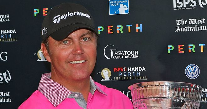 Bo Van Pelt: two-shot winner in Perth