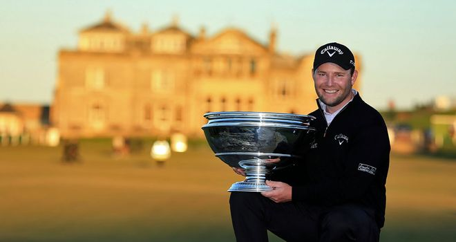 Branden Grace: Fourth European Tour win of a memorable 2012 season
