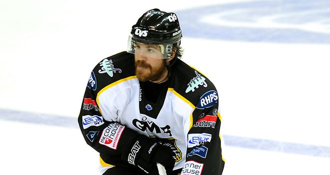 Nottingham Panthers: Brandon Benedict helped his side to victory